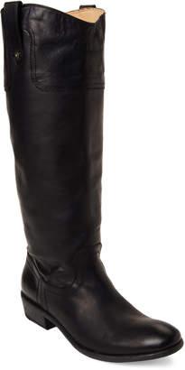 Frye Black Carson Tall Western Boots