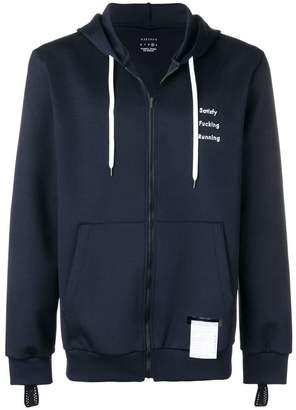 Satisfy zip-up hoodie