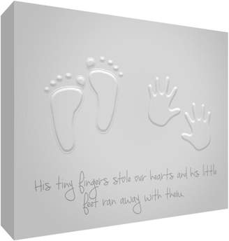 Camilla And Marc Feel Good Art Gallery Wrapped Nursery Canvas in Modern Design (20 x 30 x 3 cm Small