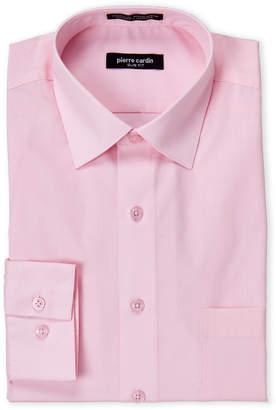 Pierre Cardin Cherry Pink Slim Fit Dress Shirt