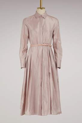 Max Mara Fiorire silk dress