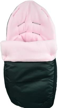 Cuddles Collection Showerproof Fleece Lined Carseat Footmuff (Baby Pink)