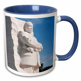 Lee 3dRose Martin Luther King Jr Memorial, Washington DC, USA - US09 LFO0148 Foster - Two Tone Blue Mug, 11-ounce