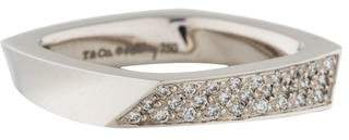 Tiffany & Co. 18K Diamond Torque Ring