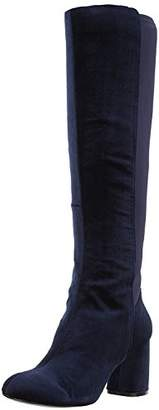 Nine West Women's Knowone Fabric Knee High Boot