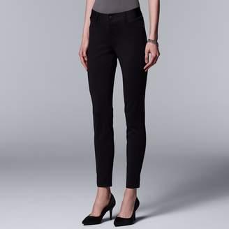 Vera Wang Women's Simply Vera Everyday Luxury Ponte Skinny Pants