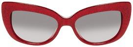 Kate Spade Ursula Glitter Cat Eye Frame