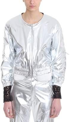 Isabel Marant Athino Metallic Silver Bomber