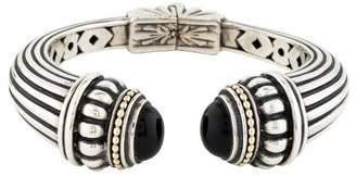 Lagos Onyx Caviar Cuff