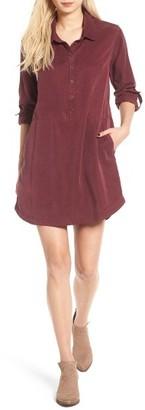 Women's Ten Sixty Sherman Washed Shirtdress $55 thestylecure.com