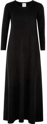 Madeleine Thompson Nero Wool And Cashmere-Blend Maxi Dress