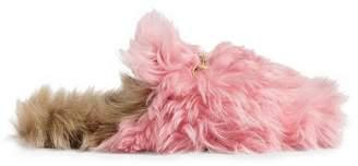 Gucci Pink Princetown Merino Wool mules