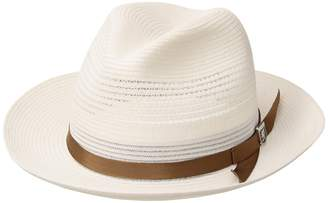 Stacy Adams Vented Poly Braid Fedora Caps