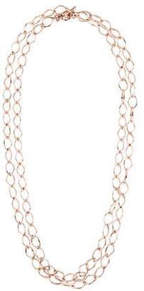Ippolita Rosé Long Chain-Link Necklace