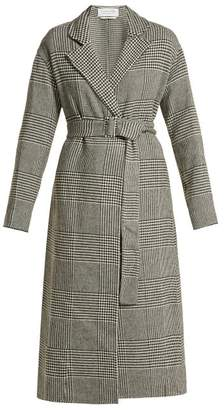 Gabriela Hearst - Souza Cashmere Belted Coat - Womens - Black White