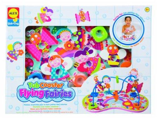 Alex Rub A Dub Tub Coasters - Flying Fairies
