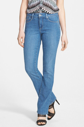 NYDJ 'Billie' Stretch Mini Bootcut Jeans (Regular & Petite) $114 thestylecure.com