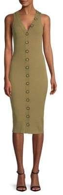 Ronny Kobo Elanna Ribbed Sheath Dress