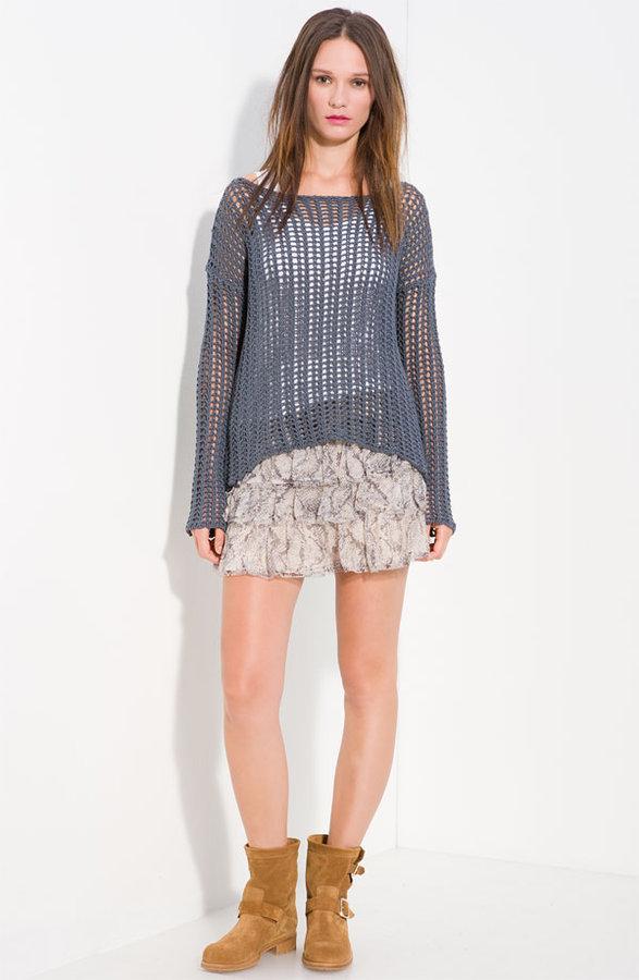 Zadig & Voltaire 'Master Deluxe' Open Weave Sweater