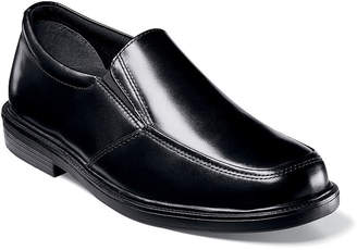 Nunn Bush Tucker Mens Moc Toe Slip-On Dress Shoes