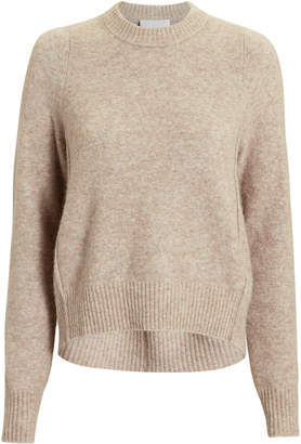 3.1 Phillip Lim Brown High-Low Sweater