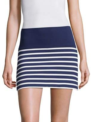 Beyond Yoga Striped Detail Skirt