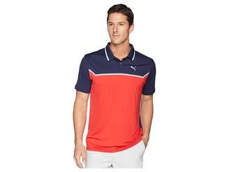 Puma Bonded Tech Polo Men's Short Sleeve Pullover
