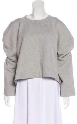 Burberry Floral-Embellished Sweatshirt