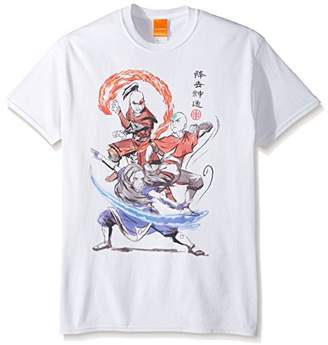 Nickelodeon Men's Airbender Groupshot T-Shirt