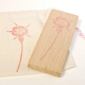 S.t.a.m.p.s. Little Stamp Store Botanical Corncockle Hand Carved Rubber Stamp