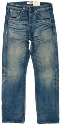 Junya Watanabe High-Rise Straight-Leg Jeans