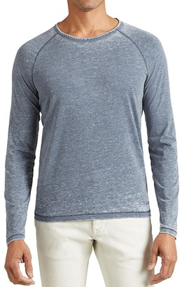 John Varvatos Star USA Long Sleeve Raglan Tee $98 thestylecure.com