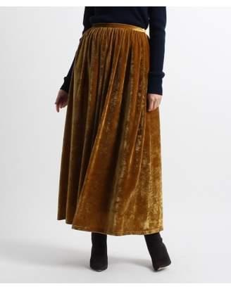 aquagirl (アクアガール) - アクアガール ベロアロングスカート