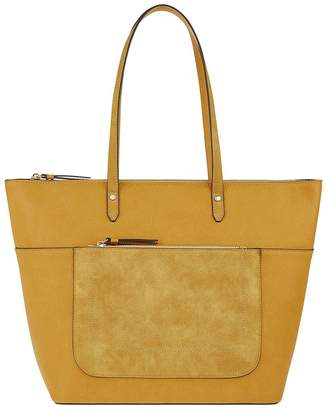 Accessorize Emily Tote Bag - Yellow
