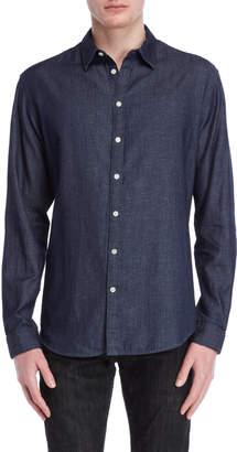 DKNY Indigo Twill Shirt