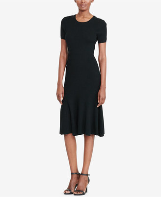 Lauren Ralph Lauren Rib-Knit Sweater Dress $155 thestylecure.com