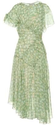 Preen by Thornton Bregazzi Etta floral chiffon midi dress