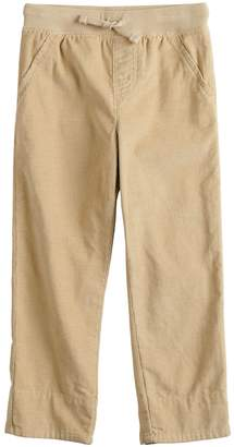 Osh Kosh Toddler Boy Jumping Beans Plaid Cuffed Corduroy Pants