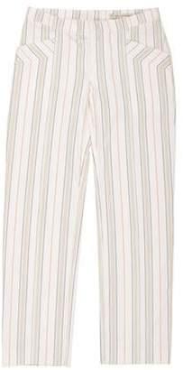 Balenciaga Mid-Rise Striped Pants Mid-Rise Striped Pants