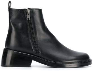 Ann Demeulemeester double sided zip ankle boots