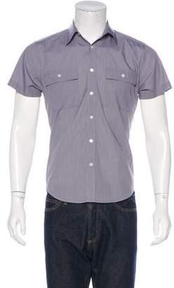 Theory Solid Dress Shirt