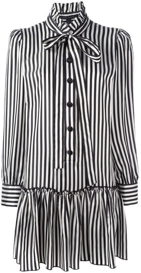 Marc JacobsMarc Jacobs striped shirt dress