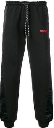 adidas By Alexander Wang drawstring waist track pants