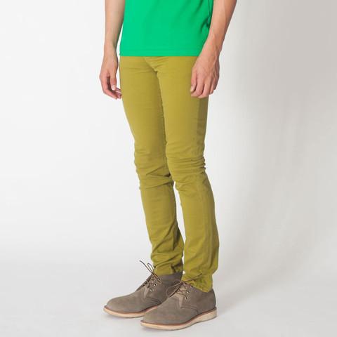 American Apparel Slim Slack Neon Olive