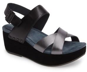 Women's Dansko Stasia Platform Wedge Sandal $159.95 thestylecure.com