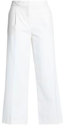 Moschino Cotton-Blend Straight-Leg Pants