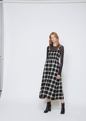 MM6 MAISON MARGIELA Checked Sleeveless Dress