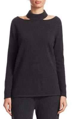 TSE x SFA Cashmere Cutout Pullover