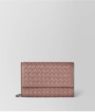 Bottega Veneta Continental Wallet In Intrecciato Nappa