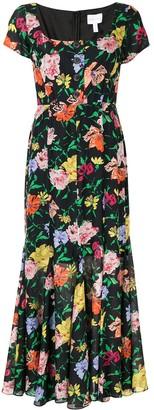 Alice McCall floral Picasso midi dress